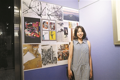 艺术生举办自筹毕业设计作品展